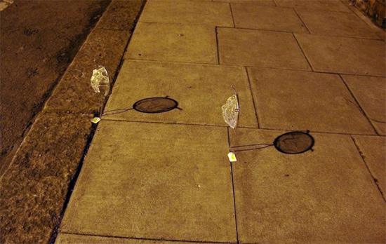 25551125 095248 Street Art ฉีกแนว..สร้างศิลปจากกระชอนลวด