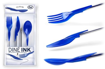 Dineink - Pen Cap Cutlery 14 - ink