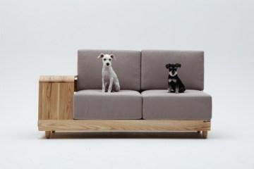 """""""Dog House Sofa"""" เฟอร์นิเจอร์ตอบโจทย์ทั้งคนทั้งหมา"""