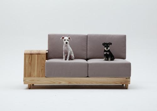 """""""Dog House Sofa"""" เฟอร์นิเจอร์ตอบโจทย์ทั้งคนทั้งหมา 19 - หมา"""