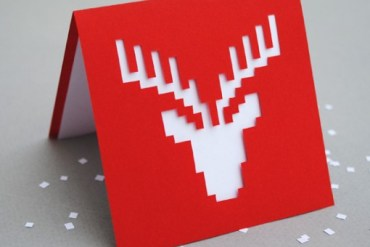 DIY.reindeer card 26 - DIY