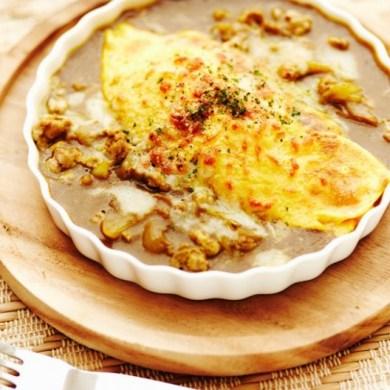 คาเฟ่ข้าวห่อไข่ OMU Japanese Omurice & Cafe' 38 - Omelette+Rice