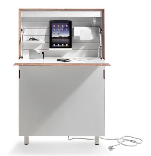 25551213 172937 Flatmate โต๊ะคอมพิวเตอร์ ประหยัดพื้นที่ อย่างแบน