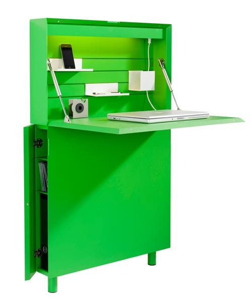 25551213 173010 Flatmate โต๊ะคอมพิวเตอร์ ประหยัดพื้นที่ อย่างแบน