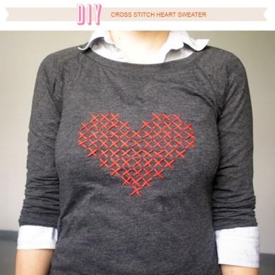 DIY ลายหัวใจบนเสื้อ 15 - DIY