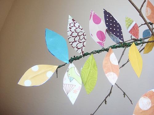 25551229 191554 DIY ต้นไม้จากเศษกระดาษห่อของขวัญ