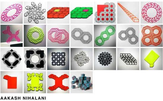 erre 550x343 3D Tape Art Installation เทปกาวลายกราฟิก สร้างมิติที่สร้างสรรค์