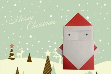 DIY.Santa Claus is coming to town 18 - origami