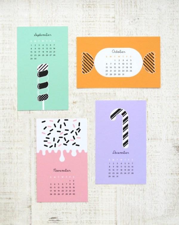 sweet calendar 03c Sweet Calendar..ฟรี!..เทมเพลทปฏิทินหวานๆรับปี 2013