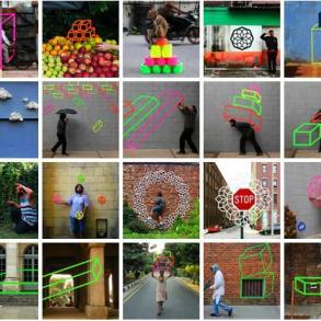 3D Tape Art Installation เทปกาวลายกราฟิก สร้างมิติที่สร้างสรรค์ 17 - New York