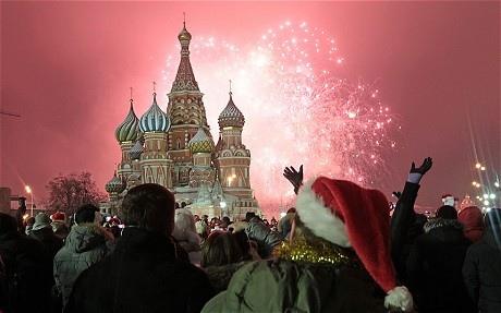 25560101 160701 ชมบรรยากาศคืนส่งท้ายปีเก่า ในประเทศต่างๆทั่วโลก