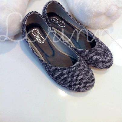 25560102 172303 ไอเดียเก๋ รองเท้า Flatshoes กับผ้าขาวม้า โดย LARINN