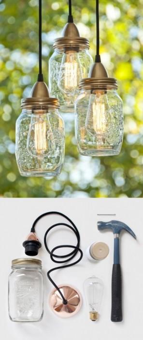 25560115 074507 DIY ทำโคมไฟจากขวดแก้วไม่ใช้แล้ว