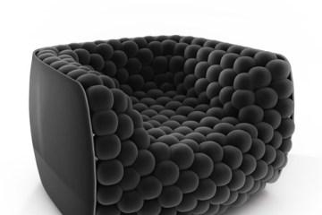 เก้าอี้นุ่มหยุ่นผ่อนคลาย..Blueberry  armchair..