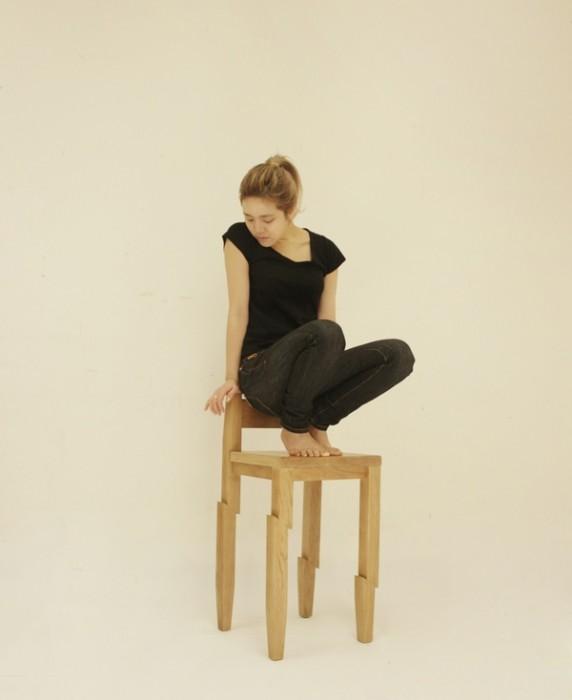Samurai Chair...เก้าอี้ถูกฟันด้วยดาบซามูไร ..จะนั่งได้มั๊ยเนี่ย?? 13 -