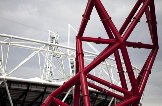 6123664550 dac506c335 z 535x350 Arcelormittal orbit tower หอคอยแห่งโอลิมปิค Olympic Park กรุงดอนลอน ประเทศอังกฤษ