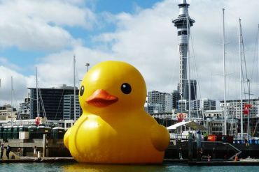 Giant Rubber Duck 13 - yellow
