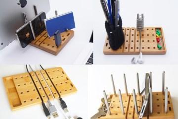 MODO - Modular Desktop Organizer 14 - bamboo