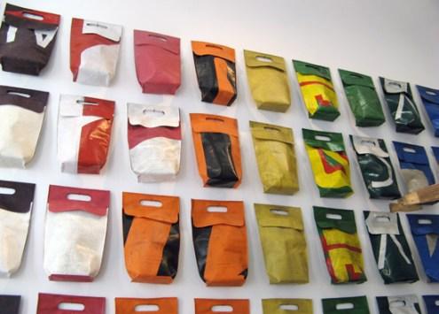 freitag06 Green Fashion Product FREITAG กระเป๋าที่ทำมาจากผ้าใบคลุมรถบรรทุก