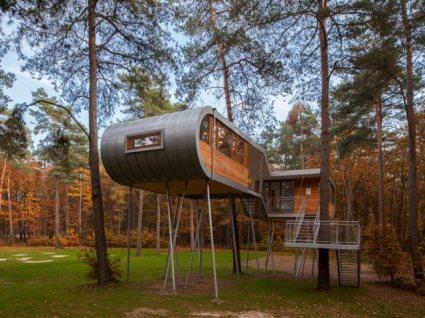 online 1 124378 slide 425x318 ประชุมท่ามกลางธรรมชาติ กับ  The Treehouse in Belgium