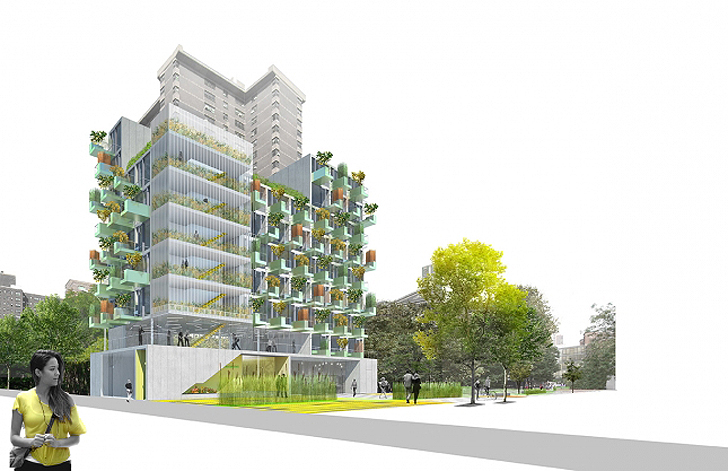 MicroGreens! อพาร์ตเม้นต์ขนาดเล็กที่ทุกยูนิตมีสวนผักบนระเบียง ในนิวยอร์ค 26 - GREENERY