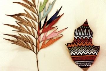 เมื่อศิลปะมาเจอกับธรรมชาติ ภาพวาดบนใบไม้ โดย GABEE MEYER 2 - GABEE MEYER