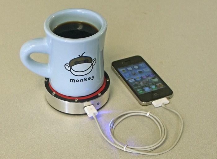 ชาร์ตมือถือจาก จานรองถ้วยกาแฟ !!! 32 - gadget