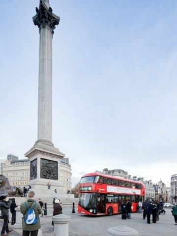 81261 slide New London's trademark bus