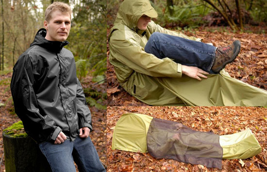 JakPak JakPak – Jacket and Sleeping Bag เสื้อ+ถุงนอน สำหรับนักท่องเที่ยว