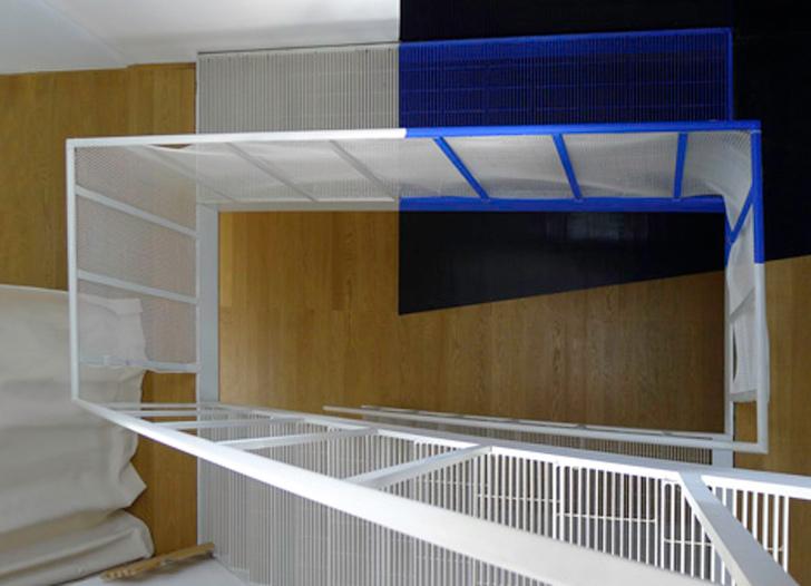 Transforming a laundry by Alain Hinant 7 เปลี่ยนอาคารซักรีด..ให้กลายเป็นบ้านน่าอยู่ของศิลปิน