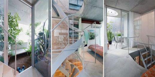 b2 โปร่งได้ใจ House and Garden in Tokyo by Ryue Nishizawa