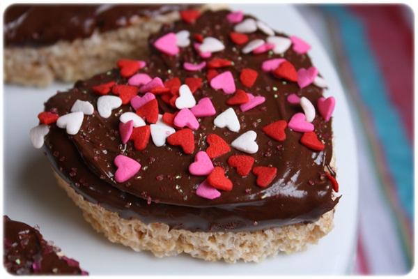 hearts5 ของชวัญวาเลนไทน์..Rice Krispie Hearts