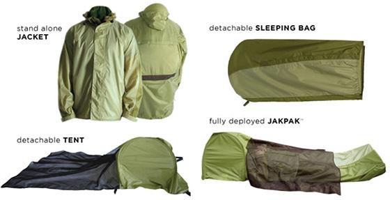 jakpak jacket tent sleeping bag JakPak – Jacket and Sleeping Bag เสื้อ+ถุงนอน สำหรับนักท่องเที่ยว
