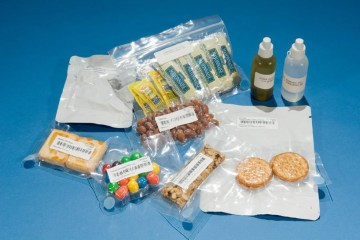50 years of NASA's Space Food Packaging Documented 8 - packing