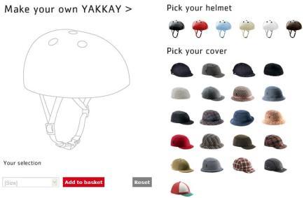 wsdw Yakkay หมวกจักรยาน ที่ออกแบบเองได้