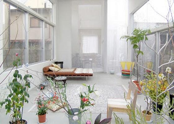 wwe โปร่งได้ใจ House and Garden in Tokyo by Ryue Nishizawa