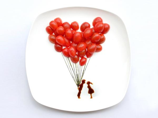 25560318 163811 ไอเดียสร้างภาพศิลปะจากอาหารบน instagram โดยสถาปนิกชาวมาเลเซีย