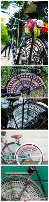 25560323 083658 แต่งแต้มสีสันให้ล้อจักรยานด้วยไหมพรม