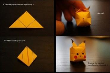 มาพับ Origami Pikachu กัน 24 - origami
