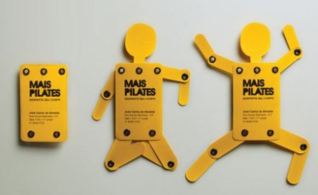 mais pilates studio wake up your body business card 450x276 Create Name Card ไอเดียทำนามบัตร
