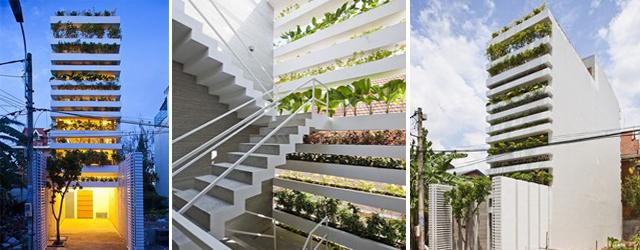 สวนแนวตั้ง คือ บ้านของเรา ณ Ho Chi Minh City 13 - Architecture