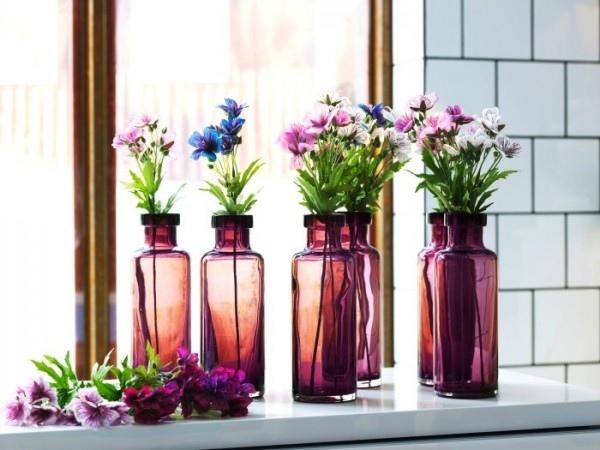 25560412 084747 เพิ่มสีสันด้วยดอกไม้ในแจกันจากขวดเก่า