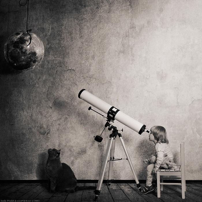 25560420 221348 เก็บความทรงจำดีๆไว้กับภาพขาวดำ..มิตรภาพระหว่างเด็กสาว 4 ขวบ กับแมวจอมกวน..