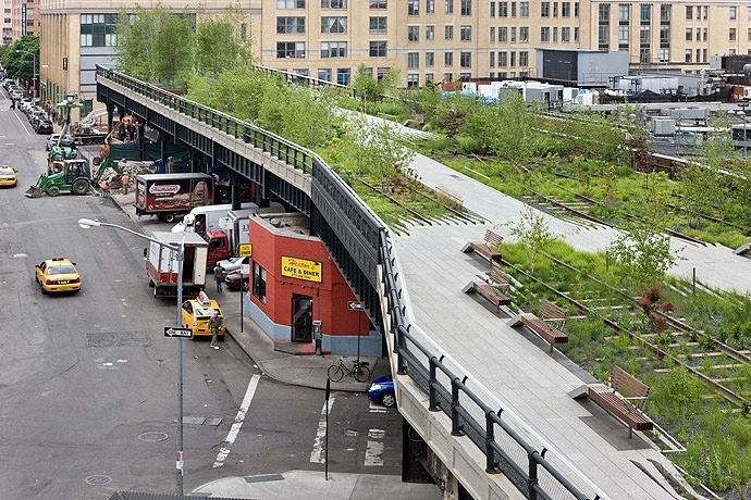 The High Line..สวนสาธารณะยกระดับ จากทางรถไฟเก่าในนิวยอร์ค 13 - high line