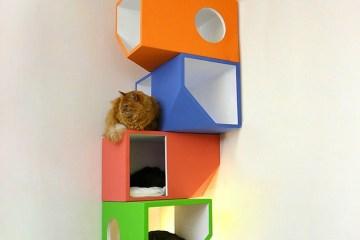 Catissa – บ้านสไตล์โมเดิร์น 4 ชั้น สำหรับแมวเหมียว 2 - Mojorno