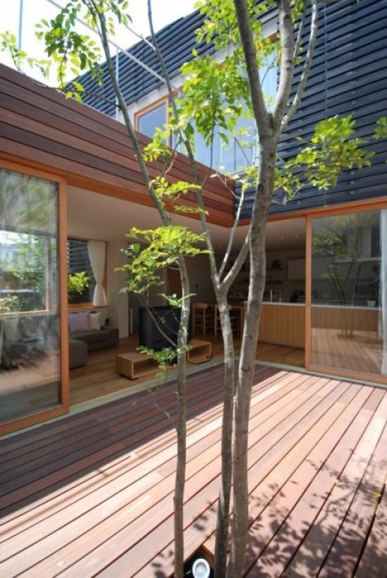 25560430 161057 ทาวน์เฮาส์ 107 ตรม...ที่นี่..อยู่ร่วมกับต้นไม้และสวน แบบไม่มีผนังกั้น