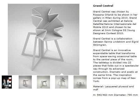 54 450x313 Folding Table is Inspired By Pop Up Map Grand Central โต๊ะพับได้ตามรูปแบบของการพับแผนที่ป๊อปอัพ