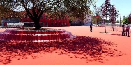 9 38968 superkilen kodan dansko 450x225 Superkilen พื้นที่ที่คนในชุมชนช่วยกันเลือกงานออกแบบมาเติมแต่งสวนสาธารณะ