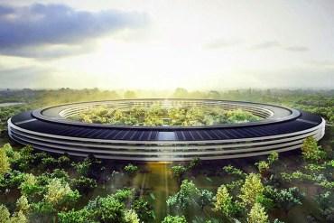 โครงการสำนักงานแห่งใหม่เป็นมิตรกับสิ่งแวดล้อม ของApple ใน Cupertino Campus 25 - apple