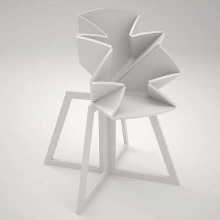 grandcentral01 450x450 Folding Table is Inspired By Pop Up Map Grand Central โต๊ะพับได้ตามรูปแบบของการพับแผนที่ป๊อปอัพ